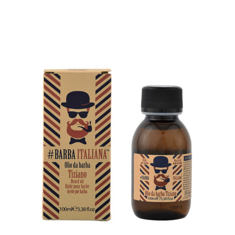 Barba Italiana Olio da barba Tiziano 100ml - Huile pour barbe