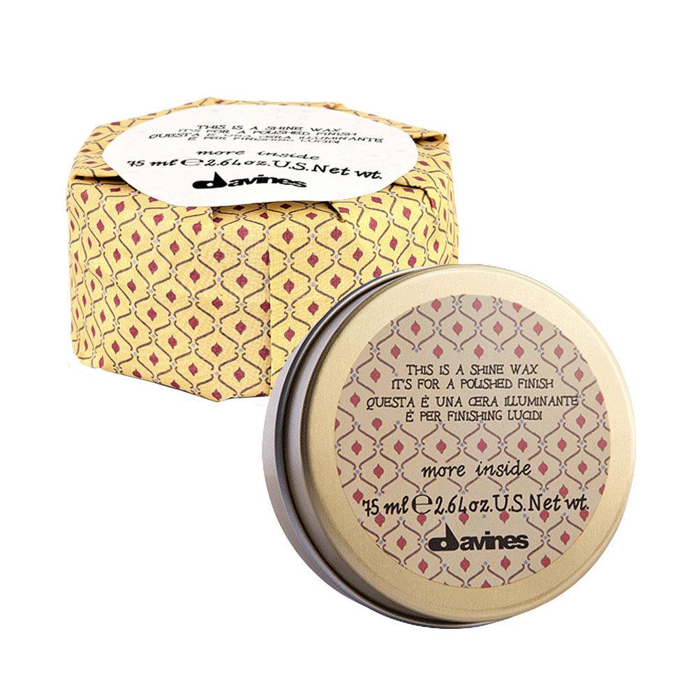 Davines More inside Shine wax 75ml - Cire brillante