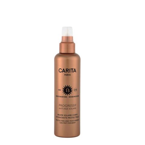 Carita Skincare Brume Solaire Corps Hydratante Protectrice SPF 15, 200ml