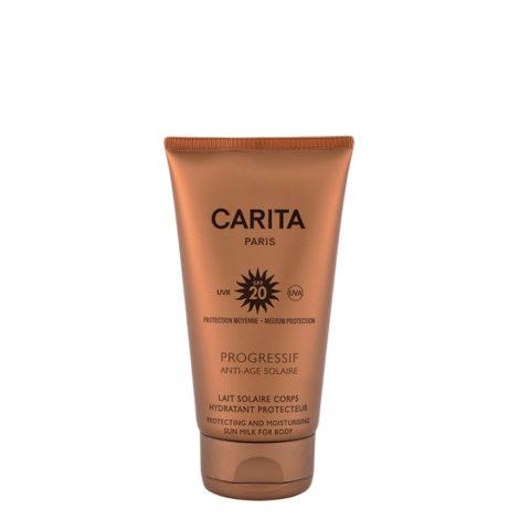 Carita Skincare Lait Solaire Corps Hydratant Protecteur SPF 20, 150ml
