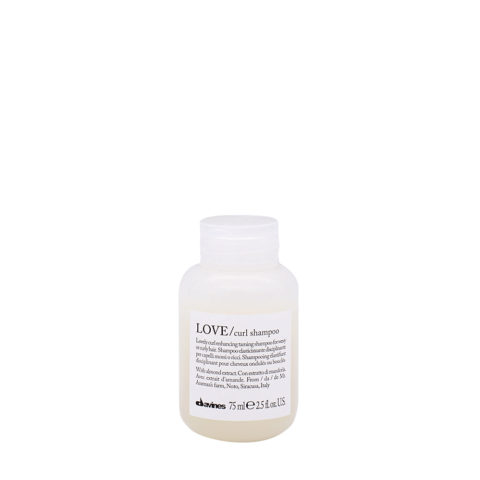 Davines Essential hair care Love curl Shampoo 75ml - Shampooing assouplissant