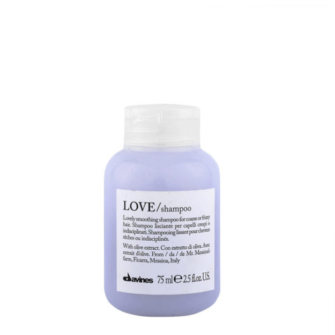 Davines Essential hair care Love smooth Shampoo 75ml - shampooing lissage