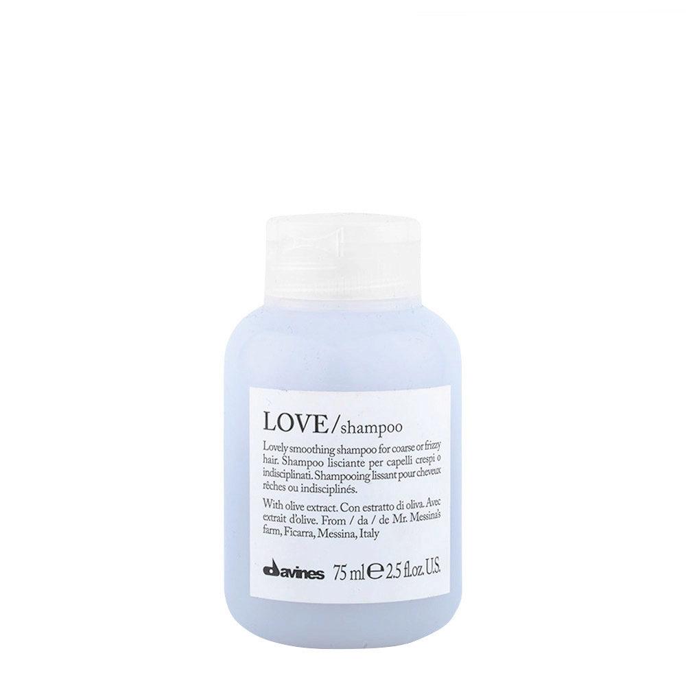 Davines Essential hair care Love smooth Shampoo 75ml - shampooing lissage