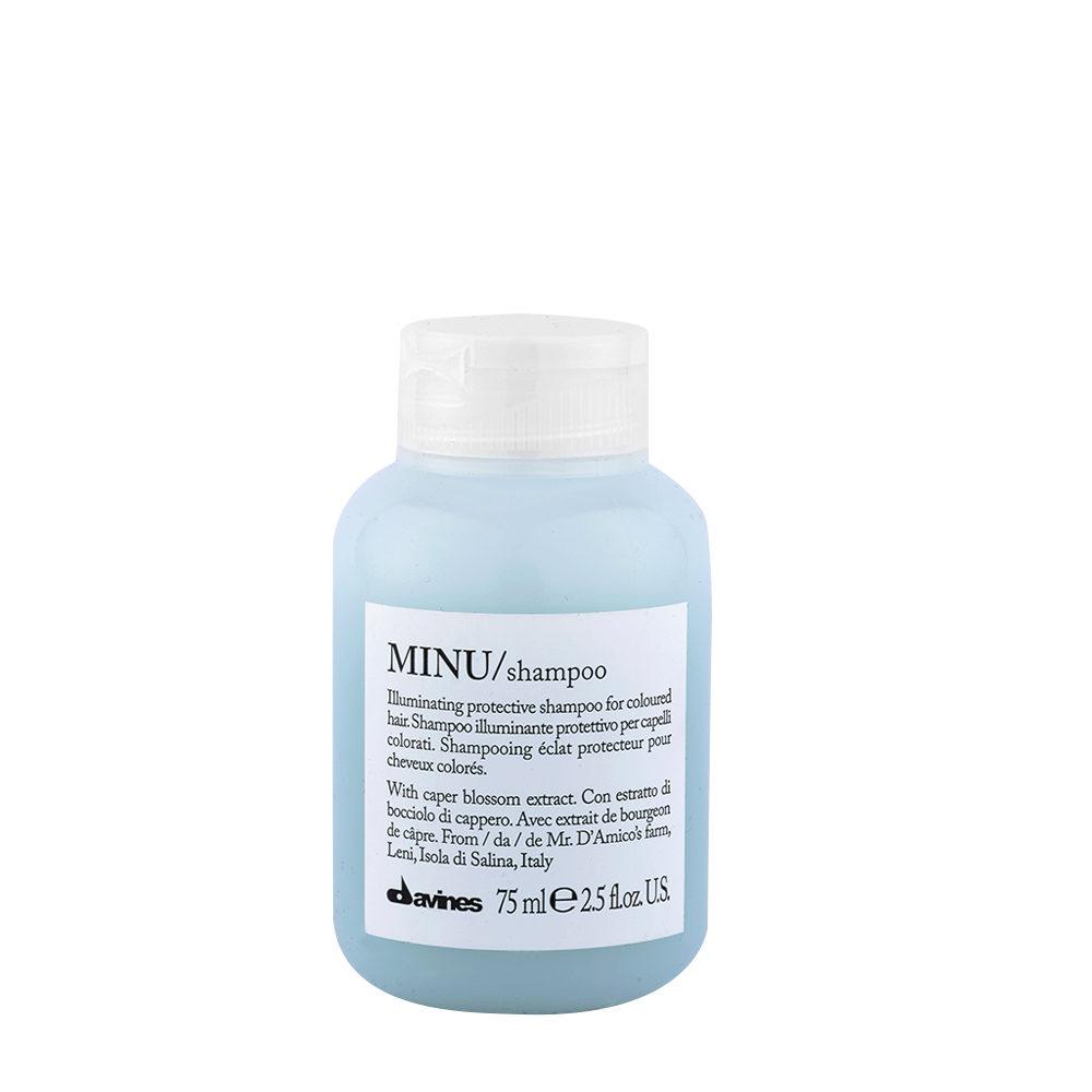 Davines Essential hair care Minu Shampoo 75ml - shampooing illuminant