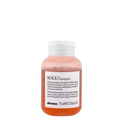 Davines Essential hair care Solu Shampoo 75ml - Shampooing rafraîchissant