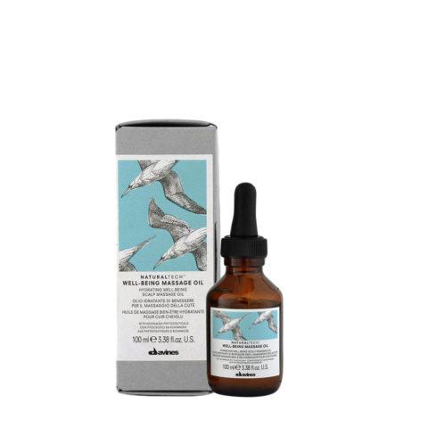 Davines Naturaltech Wellbeing Massage Oil 100ml - oil pour massage du cuir chevelu