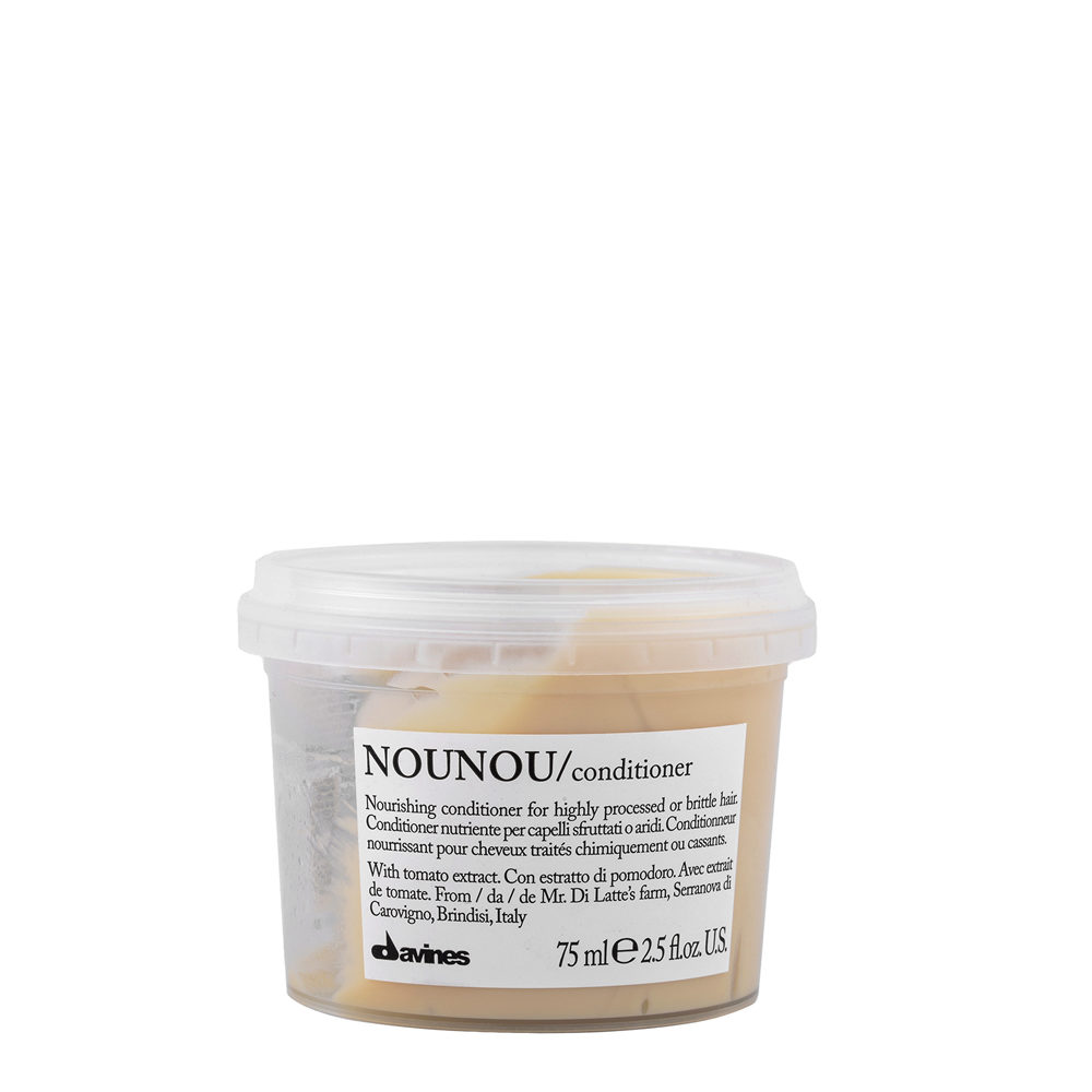 Davines Essential hair care Nounou Conditioner 75ml - Conditionneur nourrissant