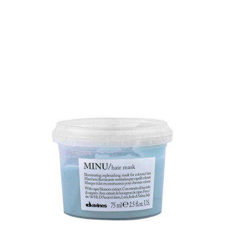 Davines Essential hair care Minu Hair mask 75ml - Masque illuminant