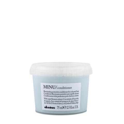 Davines Essential hair care Minu Conditioner 75ml - Conditionneur illuminant