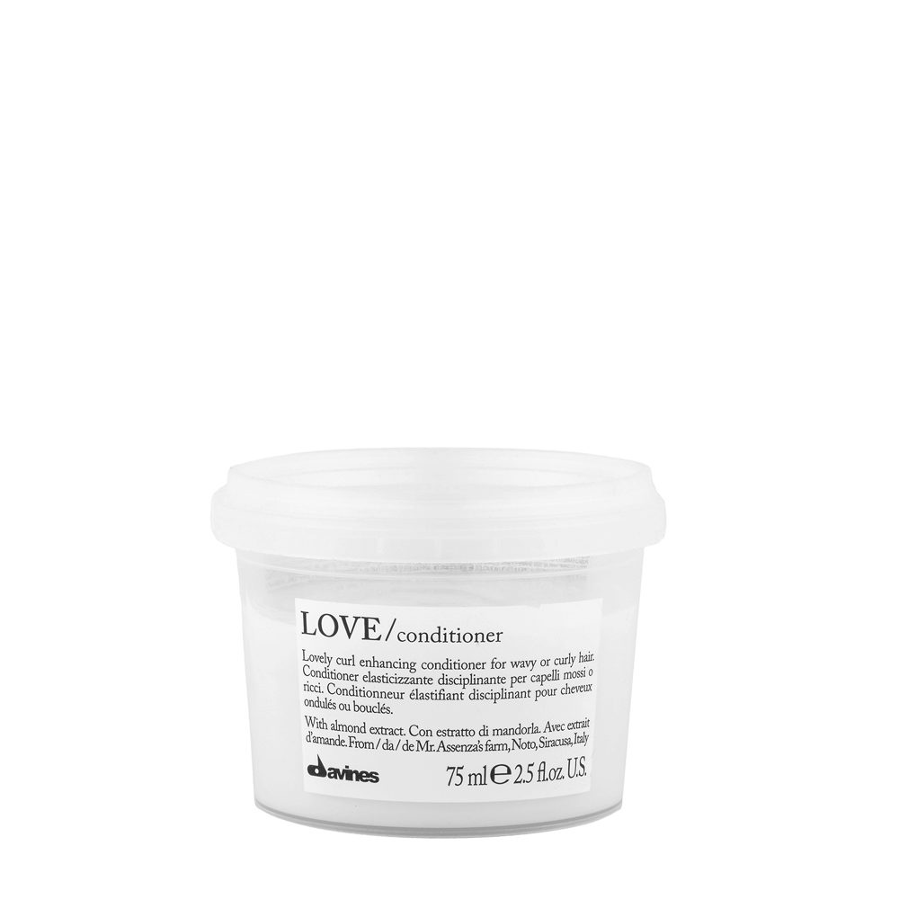 Davines Essential hair care Love curl Conditioner 75ml - Conditionneur disciplinant
