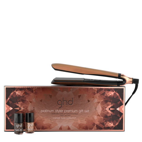 GHD Platinum Copper Luxe Collection gift set