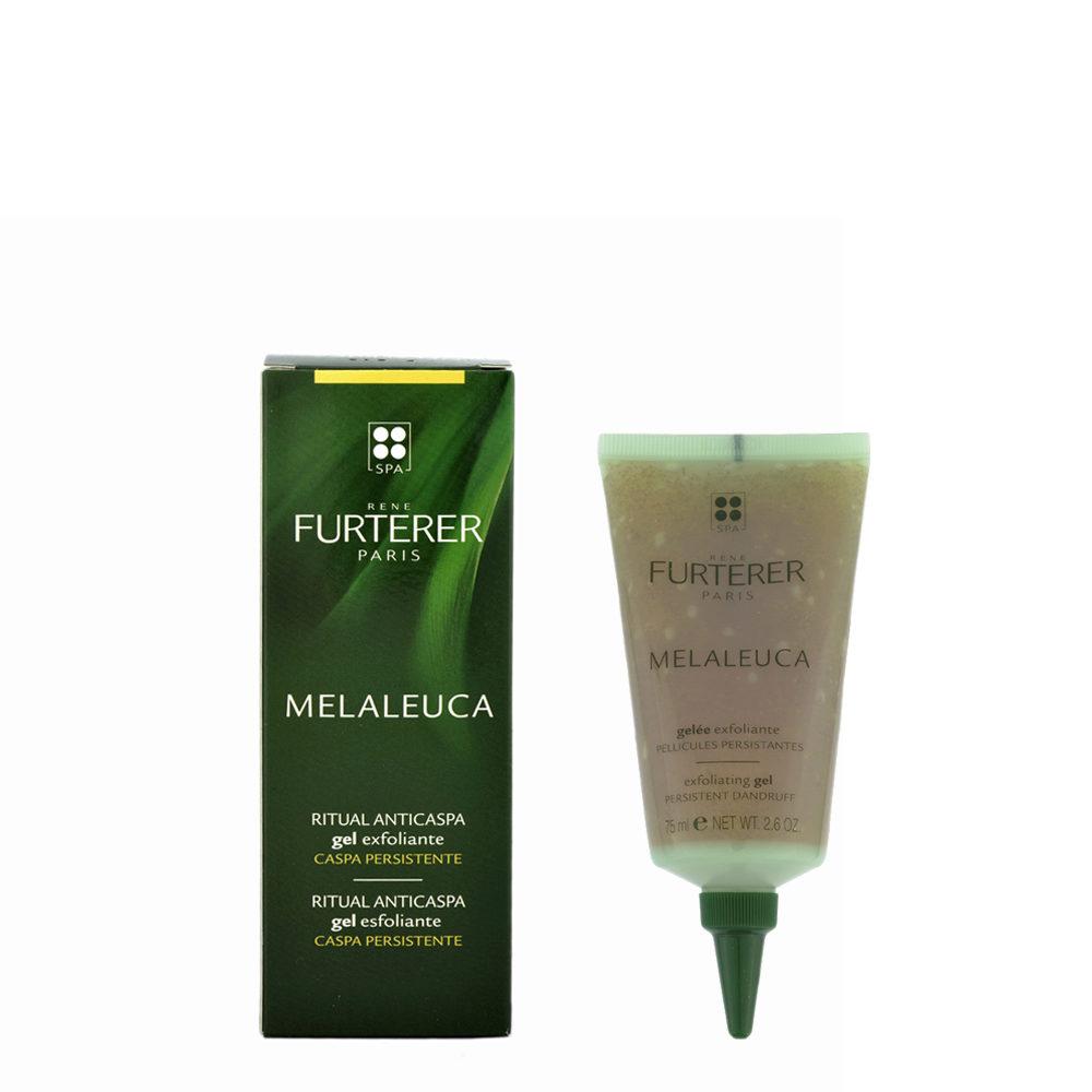 René Furterer Melaleuca Exfoliating Gel 75ml - gelèe exfoliante pellicules persistantes