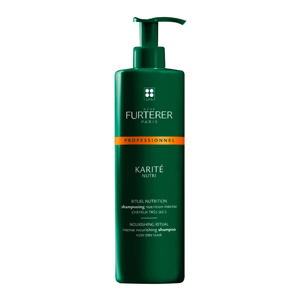 René Furterer Karité Intense Nourishing Shampoo 600ml - shampooing nutrition intense