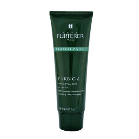 René Furterer Curbicia Purifying Clay Shampoo 250ml - shampooing masque pureté