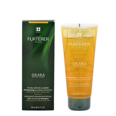 René Furterer Okara Light Activating Shampoo 200ml - shampooing activateur de lumiere