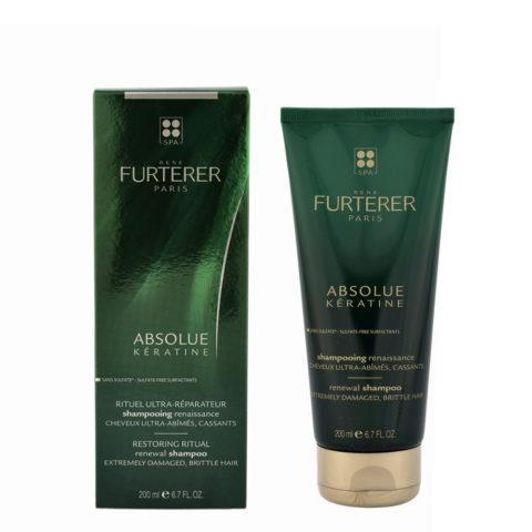 René Furterer Absolue Kératine Shampoo Effet Renaissance 200ml cheveux ultra-abîmés