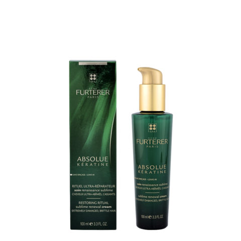 René Furterer Absolue Kératine Sublime Renewal Cream 100ml - Soin Renaissance Sublime