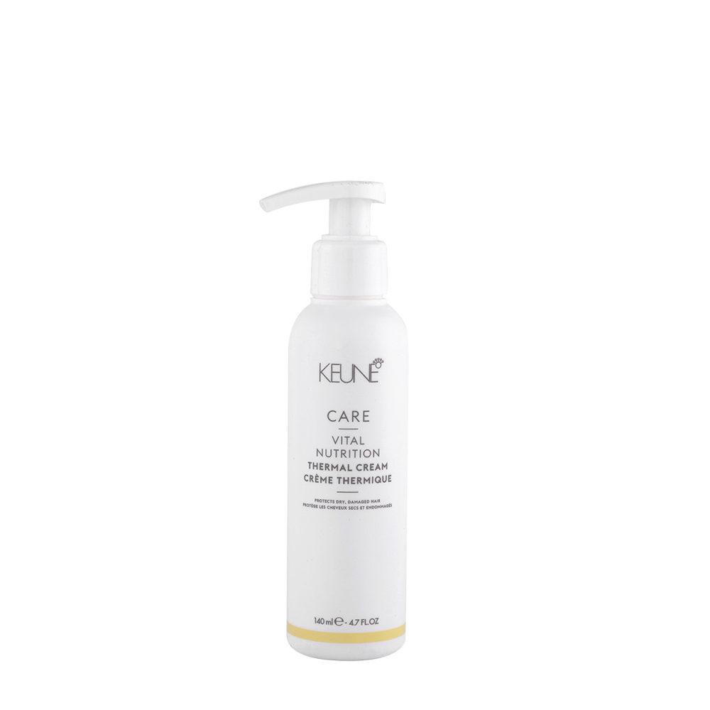 Keune Care Line Vital Nutrition Thermal Cream 140ml - crème styling cheveux