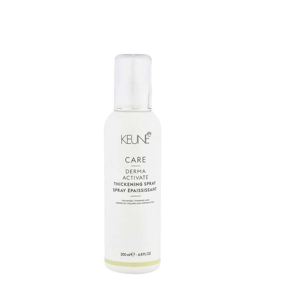 Keune Care Line Derma Activate Thickening Spray 200ml - Spray Épaississant