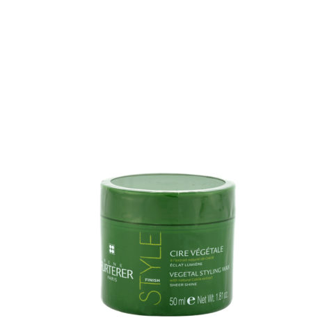 René Furterer Styling Vegetal styling wax sheer shine 50ml - cire végétale éclat lumiére