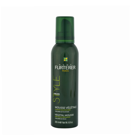 René Furterer Styling Vegetal mousse volume and hold 200ml - mousse végétale volume & fixation