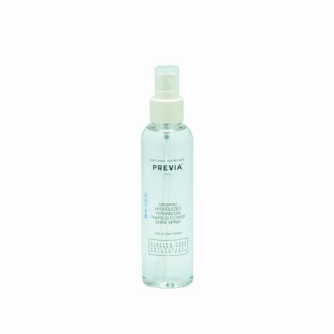 Previa Finish Organic Hydrolized Verbascum Thapsus Flower Shine spray 150ml - Spray brillance