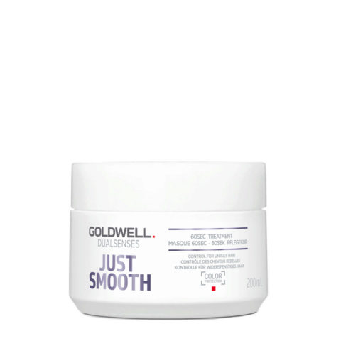 Goldwell Dualsenses Just Smooth Masque 60 sec 200ml - Traitement disciplinant