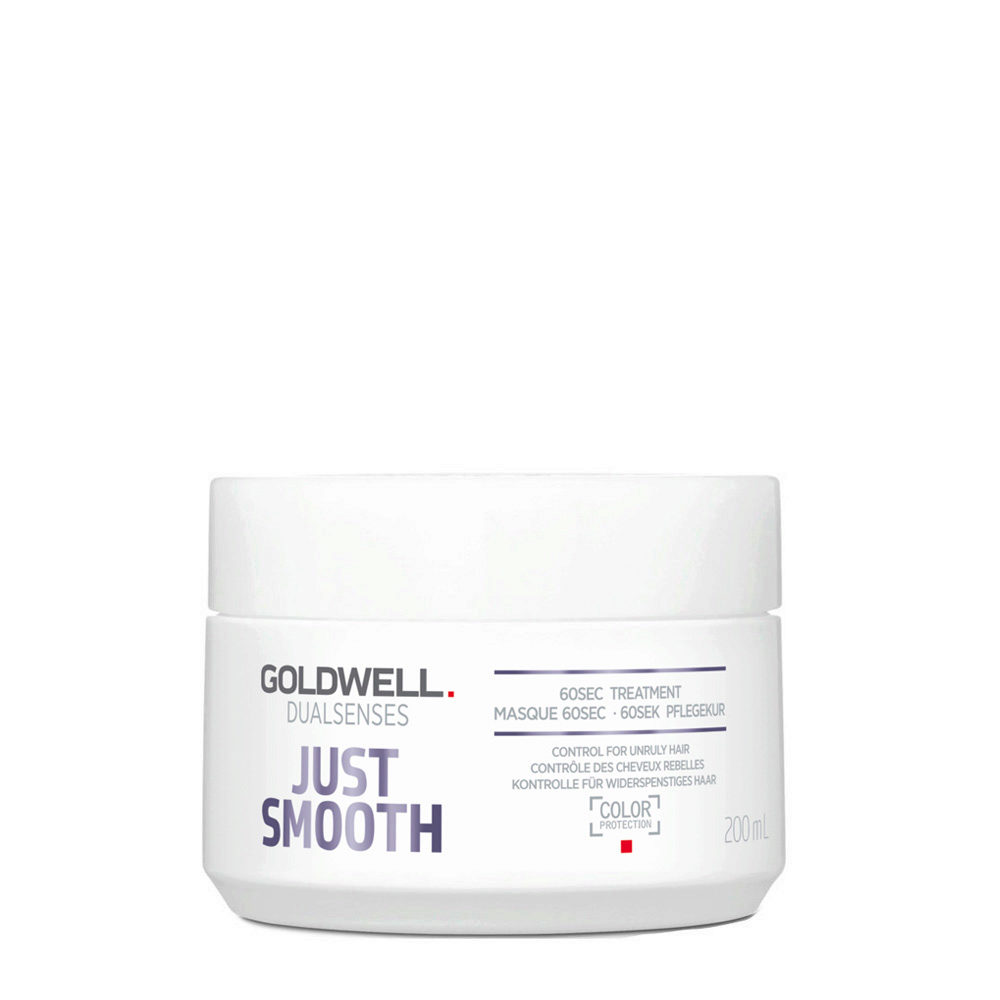 Goldwell Dualsenses Just Smooth Masque 60 sec 200ml - Mascarilla Anti-Frizz
