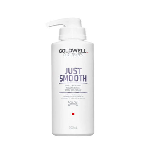 Goldwell Dualsenses Just Smooth Masque 60 sec 500ml - Traitement disciplinant