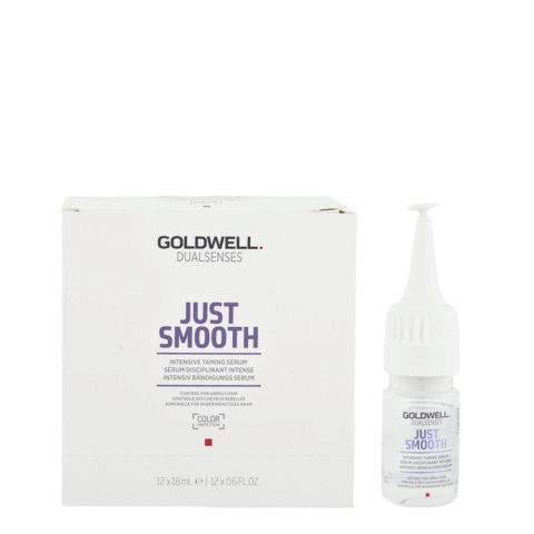 Goldwell Dualsenses Just Smooth Intensive Taming Serum 12x18ml - Sérum Disciplinant Intense