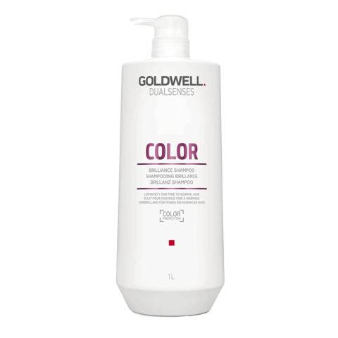 Goldwell Dualsenses color Brilliance shampoo 1000ml - Shampooing cheveux colorès