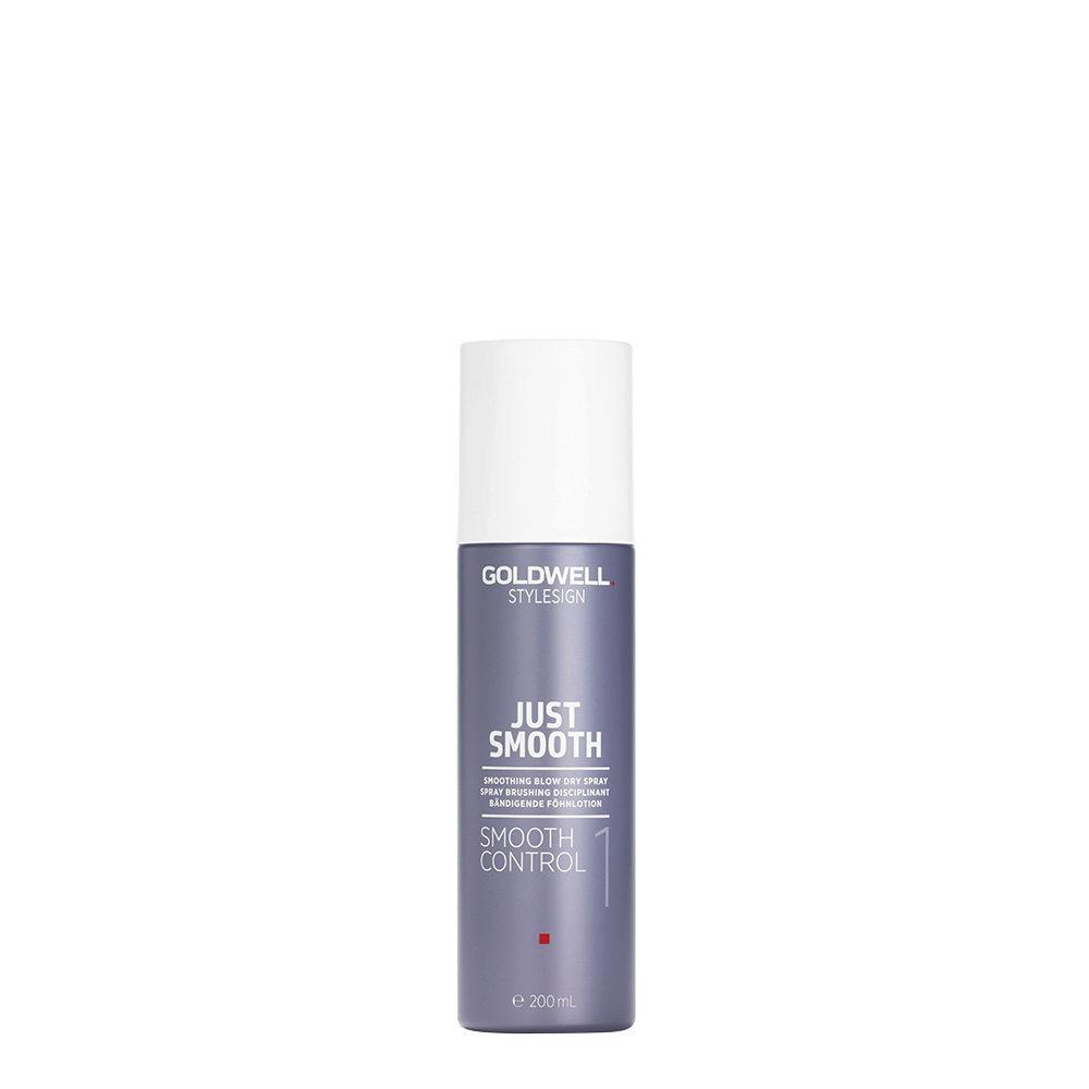 Goldwell Stylesign Just Smooth Control 200ml - Spray brushing disciplinant
