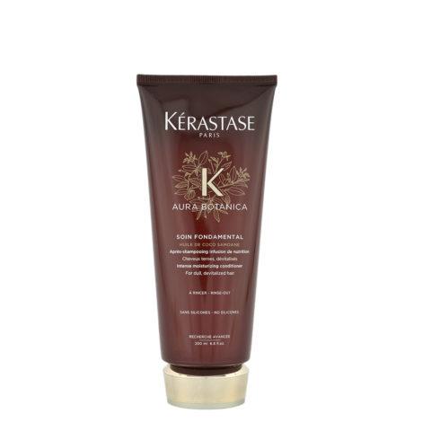 Kerastase Aura Botanica Soin Fondamental 200ml - Soin après-shampooing pour cheveux ternes, dévitalisés.