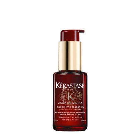 Kerastase Aura Botanica Concentré Essentiel 50ml - concentré aromatique d'huiles nourissantes