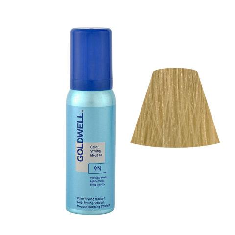 9N Blond trés clair Goldwell Color Styling Mousse 75ml