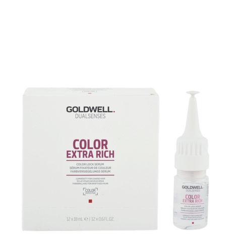 Goldwell Dualsenses Color Extra Rich Brilliance Color lock Serum 12x18ml - sérum de fixateur