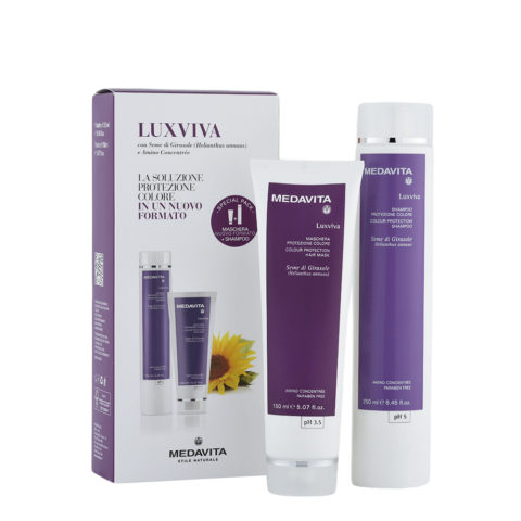 Medavita Lunghezze Luxviva Shampooing 250ml et Masque 150ml