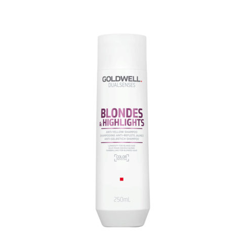 Goldwell Dualsenses blond & highlights Anti Yellow shampoo 250ml - Shampooing anti-jaune