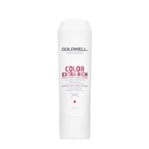 Goldwell Dualsenses Color Extrarich Brilliance Conditioner 200ml - après-shampooing cheveux colourès gros
