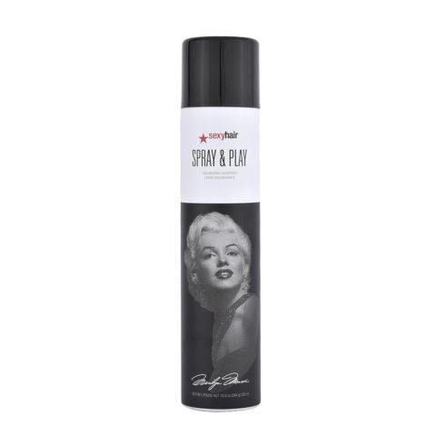 Big Sexy Hair Spray & Play Volumizing hairspray Limited Ed Marilyn Monroe 335ml