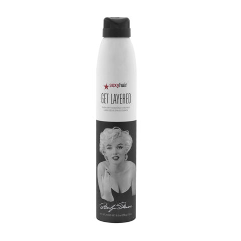 Big Sexy hair Get Layered Limited Ed Marilyn Monroe 275ml - Laque tenue moyenne