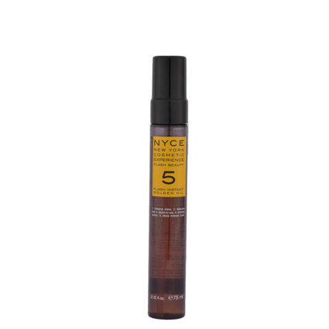 Nyce Flash Beauty Instant Golden Oil 75ml - huile Restructuration cheveux secs