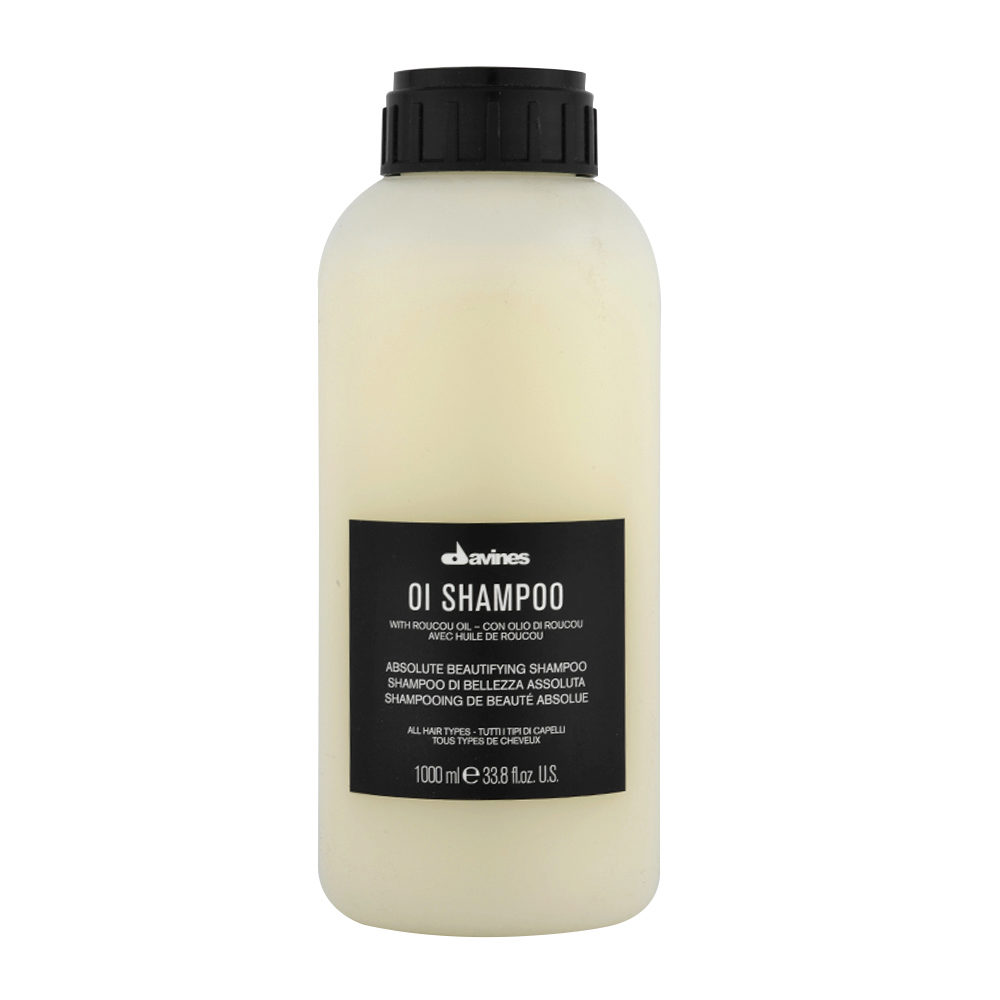 Davines OI Shampoo 1000ml - Shampooing Multibenefit