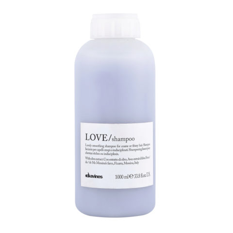 Davines Essential hair care Love smooth Shampoo 1000ml - shampooing lissage