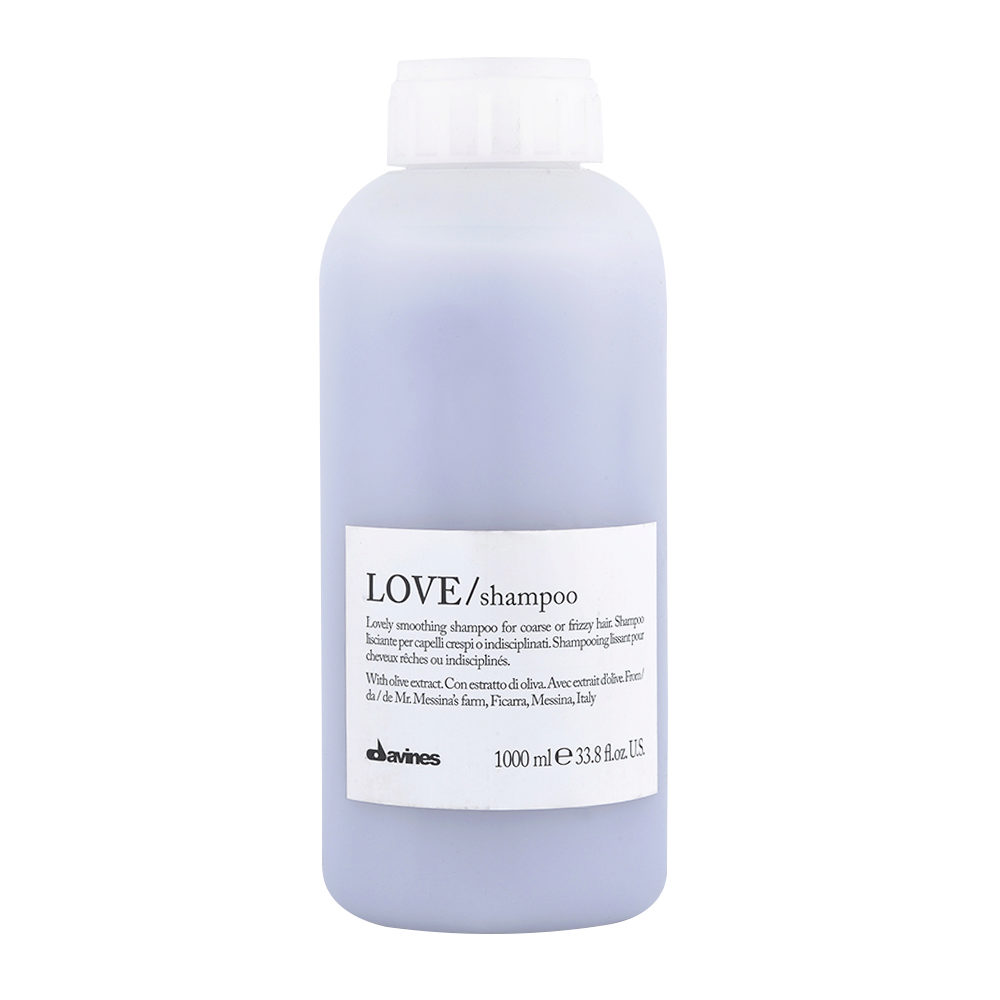 Davines Essential hair care Love smooth Shampoo 1000ml - shampooing lissage