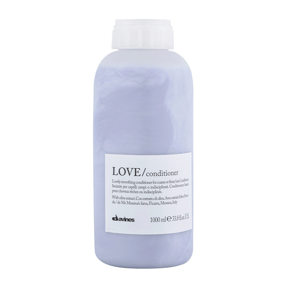 Davines Essential hair care Love smooth Conditioner 1000ml - Conditionneur lissant