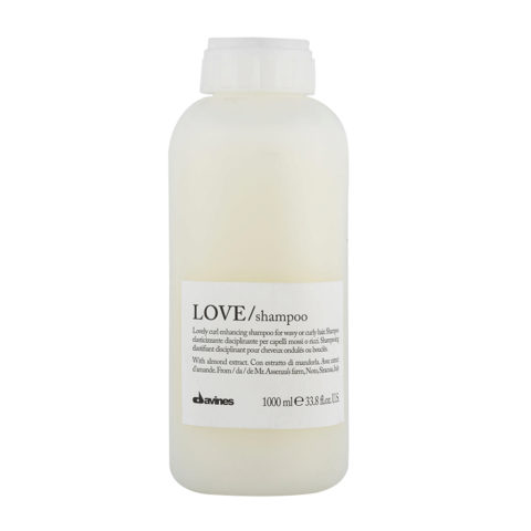 Davines Essential hair care Love curl Shampoo 1000ml - Shampooing assouplissant