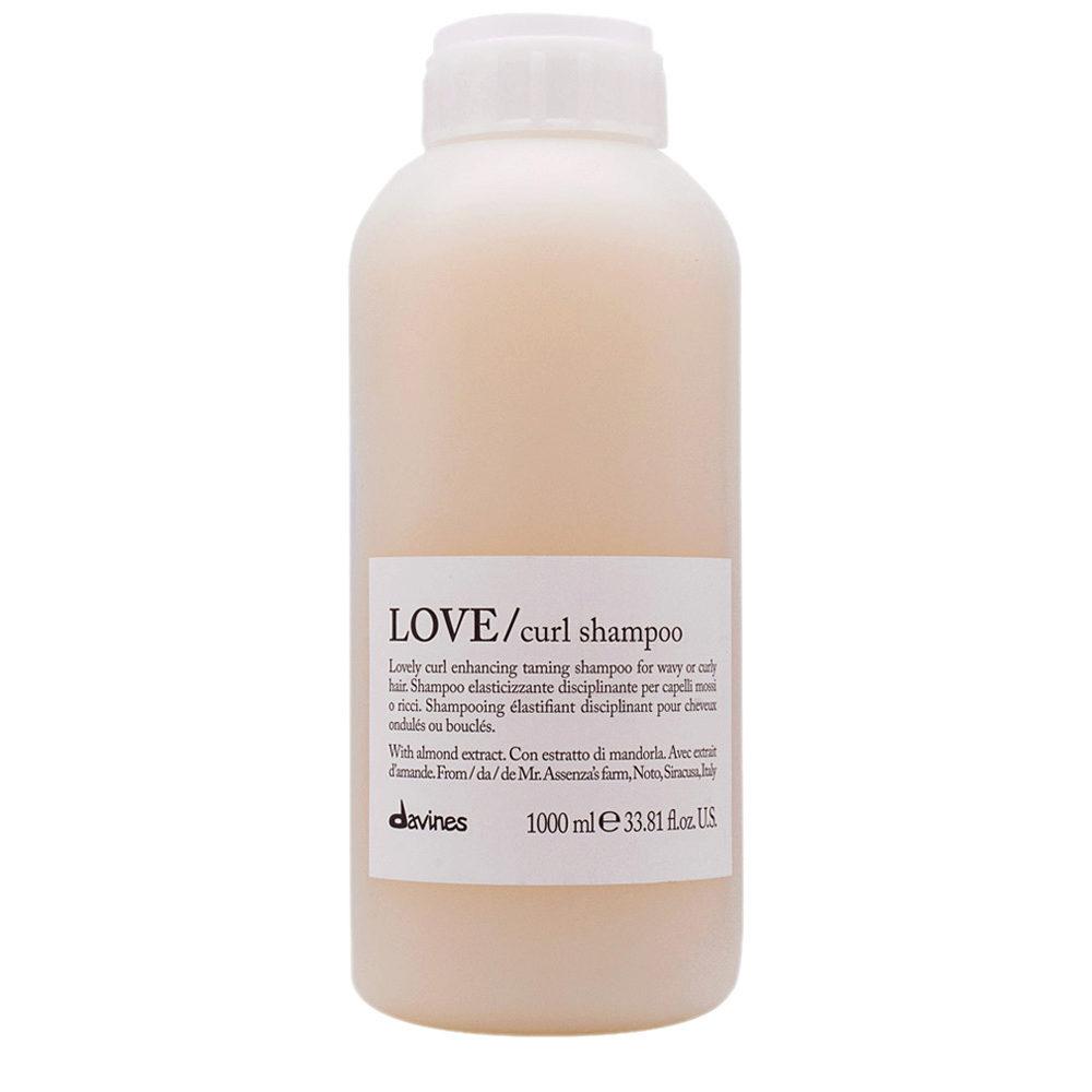 Davines Essential hair care Love curl Shampoo 1000ml - Shampooing assouplissant