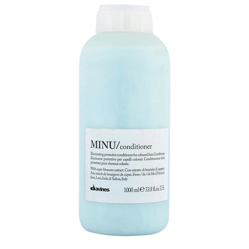 Davines Essential hair care Minu Conditioner 1000ml - Conditionneur illuminant