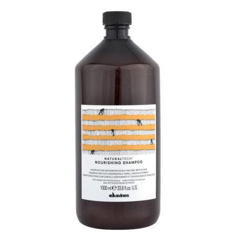 Davines Naturaltech Nourishing Shampoo 1000ml - Shampooing réparateur